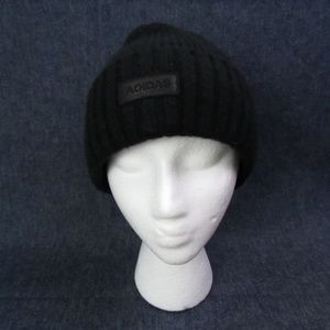 Adidas Black Two-Layer Knit Climawarm Boy's Hat